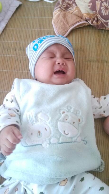 「萌哭哭宝宝」我家最喜欢哭了
